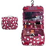 WINCAN Portable Hanging Toiletry Bag/ Portable Travel Organizer Cosmetic Bag For Women Makeup Or Men Shaving Kit...