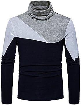 Maglione High-Neck moda casual uomo caldo filo di maglia shirt Sau set di testa, di ,S