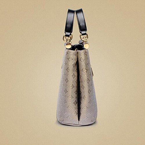 Frau Messenger Tasche Handtasche Schultertasche Pastille Beige