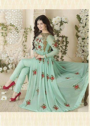 Khileshwai Fashion Women\'s Georgget Dress Material ...
