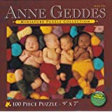 Anne Geddes Miniature Puzzle Collection: Heartfelt Series - Babies In Yarn