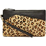 Mighty Purse SS14 Premium Collection Purse with Power Charger for Mobile Phone - Leopard