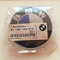 Oem Systems Company 51148132375 Capó para La Puerta del Maletero de 82Mm Logo, Azul Y Blanco