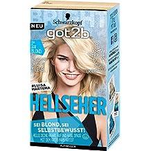 Got2b 00A Ice Blond Hellseher Haarfarbe, 3er Pack(3 x 143 ml)