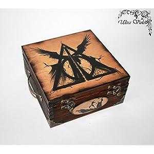 Exklusive Teebox Harry Potter Heiligtümer des Todes,Tee, Tea, Teebeutel,Teekiste, wood