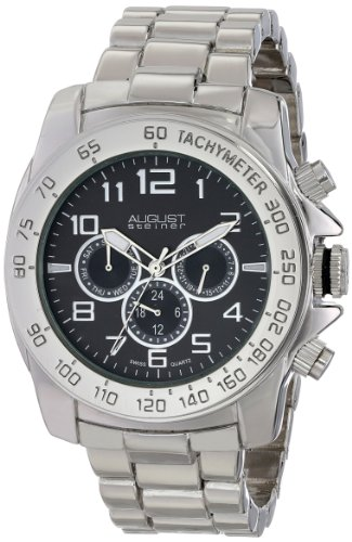 August Steiner AS8095SSB - Orologio da polso da uomo