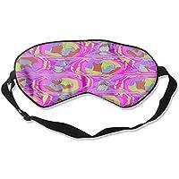 Eye Mask Eyeshade Watercolor Pattern Sleep Mask Blindfold Eyepatch Adjustable Head Strap preisvergleich bei billige-tabletten.eu