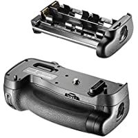 Neewer Grip empuñadura de batería (sustitución de MB-D17) trabaja con 1 pieza batería EN-EL15 o 8 piezas de baterías AA para cámara Nikon D500