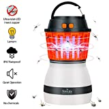 Homecube Bug Zapper, 2 in 1 Night LED Light Bulb Lamp & Mosquito