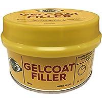 Plastic Padding Gelcoat Filler 180ml Tin. Glass Fibre GRP Repairs