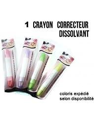"""Un Crayon Dissolvant """"Correcteur"""" Ongles + recharges - Yes Love"""