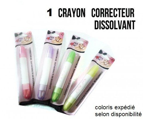Un Crayon Dissolvant \\
