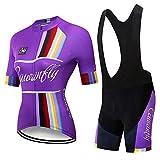 YDJGY Maglie Sportive Da Donna Maglia Da Ciclismo Femminile Estate Alta Qualità Ciclismo Downhill Abbigliamento Team Bicycle Suit
