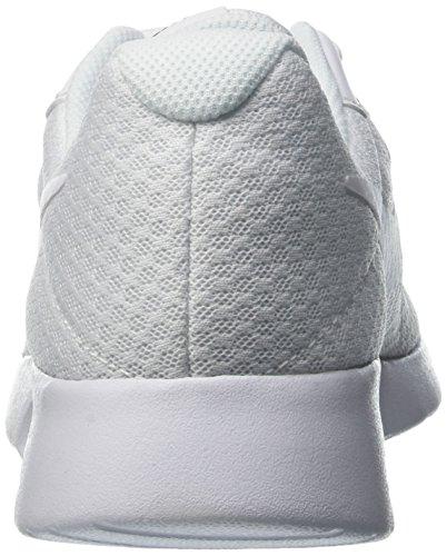 Nike  Wmns Tanjun, Entraînement de course femme Blanc (White/White/Black)