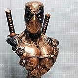 Deadpool Avengers Action Figure Dolls Giocattoli Busto Statue Regali di Halloween - 33cm B