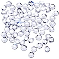 TOAOB 1000 Pieces 6 mm Scatter Crystals for Table Decoration