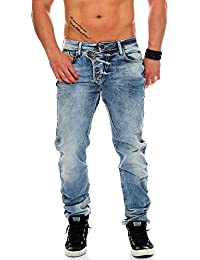 Cipo & Baxx Homme Jeans Straight Fit Lipsca