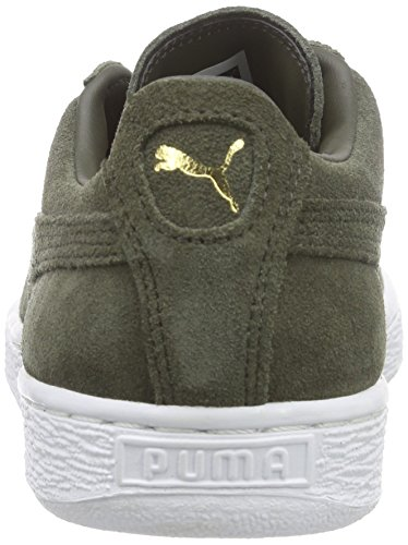 Puma Suede Classic + , Baskets Basses Homme Gris (forest Night-white 65)