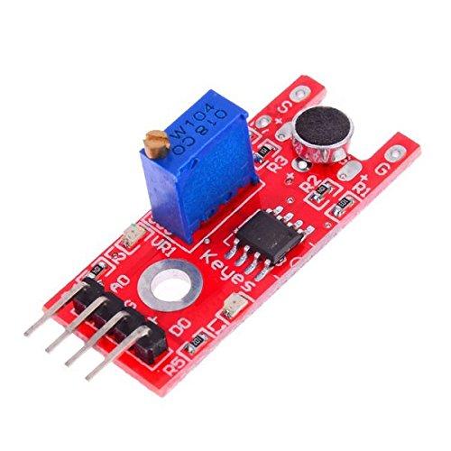 MYAMIA 5Pcs Ky-038 Mikrofon-Sound Sensor-Modul Für Arduino
