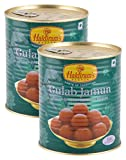 #1: Big Bazaar Combo - Haldiram's Indian Sweets - Gulab Jamun, 1kg (Buy 1 Get 1, 2 Pieces) Promo Pack