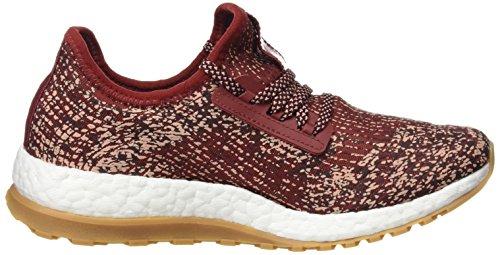 adidas Pureboost X ATR, Scarpe Running Donna Rosso (Mystery Red/night Red/tech Rust Metallic)