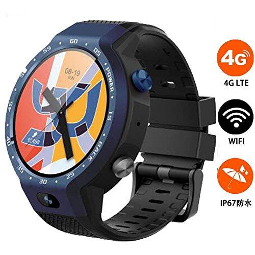 SHWBJ Smartwatch Fitness Tracker Armband Uhr SchrittzäHler Uhren Smart Watch 4G Dual-System wasserdichte GPS-Positionierungskarte Z30 Sportuh (Sprint-smart Watch)