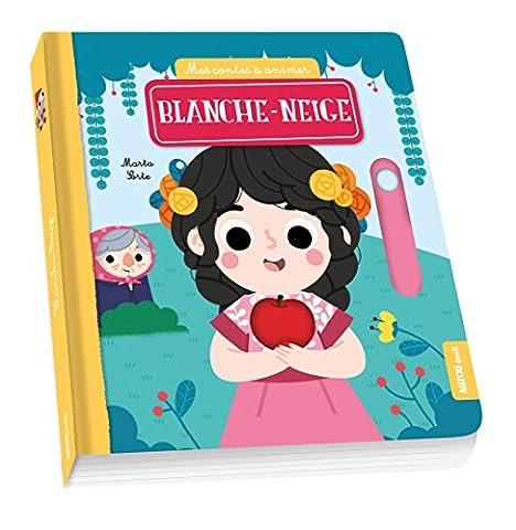Livre Anime Blanche Neige - Mes contes à animer -