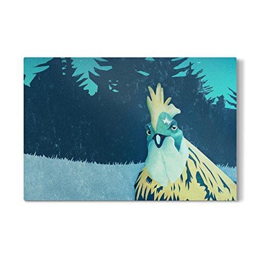 "artboxONE Galerie-Print 150x100 cm ""What the Hegg'!"" hochwertiges Acrylglas auf Alu-Dibond Bild"