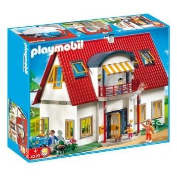 Maison moderne de luxe playmobil - tripeco.fr