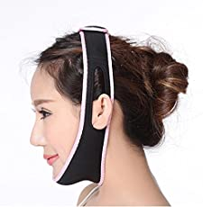 Alexvyan Women's Anti Ageing Beauty Face Slimming Chin Strap (Free Size)