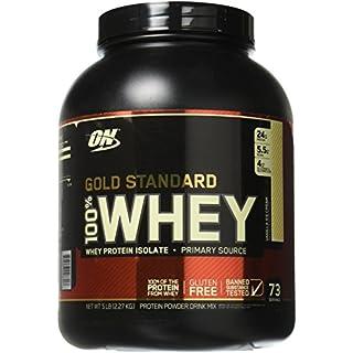 Optimum Nutrition 100% Whey Gold Standard, 2270 g, Vanilla Ice Cream