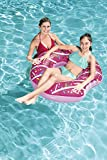 Enlarge toy image: Bestway Inflatable Donut Lounger Tube Float Pool Toy 107 cm - teenage children and family entertainment