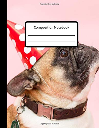 Composition Notebook: Cute dog notebook, composition book, journal (Cute Nail Clippers)
