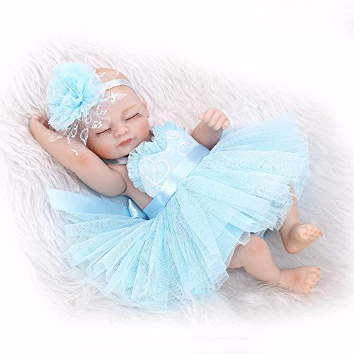 nicery-reborn-baby-doll-hard-simulation-silicone-vinyl-10inch-26cm-waterproof-bathe-toy-gift-blue-dr
