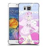 Head Case Designs Angst Yami Kawaii Ruckseite Hülle für Samsung Galaxy Alpha