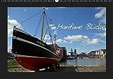 Maritime Blicke (Wandkalender 2019 DIN A2 quer): Verschiedene Schiffsbilder (Monatskalender, 14 Seiten ) (CALVENDO Technologie) - Peter Thede