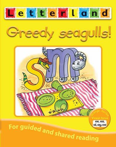 Greedy seagulls!