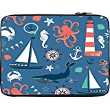 Snoogg 15 Inch Laptop Case Flip Sleeve Bag Computer Cover