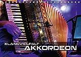 Klangvielfalt Akkordeon (Tischkalender 2020 DIN A5 quer): Konzert- und Nahaufnahmen verschiedener Akkordeons (Monatskalender, 14 Seiten ) (CALVENDO Kunst)