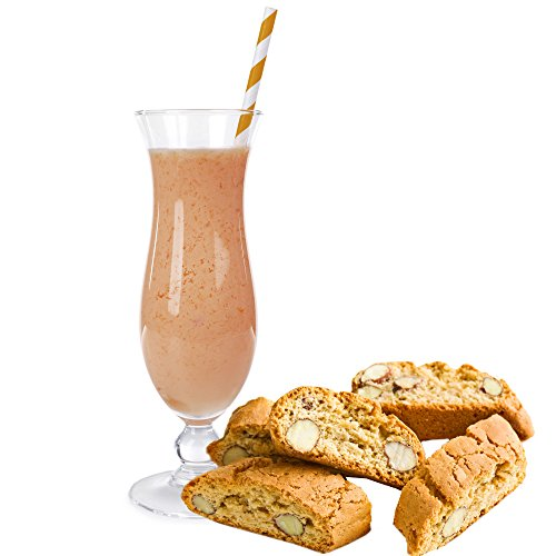 Cantuccini Geschmack Proteinpulver Vegan Proteinpulver mit 90{989a7b0632216700ac71a7cb81f95b1a0a44f97f5548ea3d9c574f417dbeef31} reinem Protein Eiweiß L-Carnitin angereichert für Proteinshakes Eiweißshakes Aspartamfrei (1 kg) (200 g)