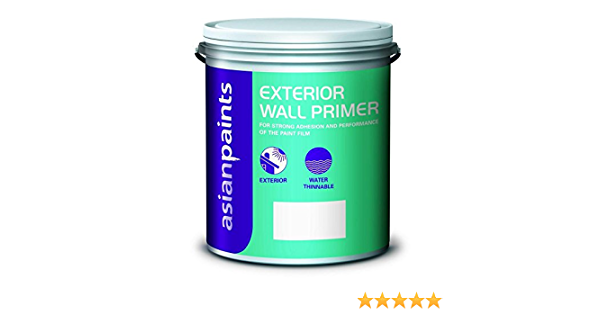 Asian Paint Water Thinnable Primer Paint 20 L White Amazon In Home Improvement