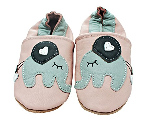 Kinder Rosa Schuhe 7PO12927 Lauflernschuhe REBY, Weite M