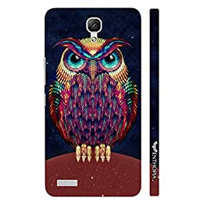 Xiaomi Redmi Note Angry Insomniac designer mobile hard shell case by Enthopia