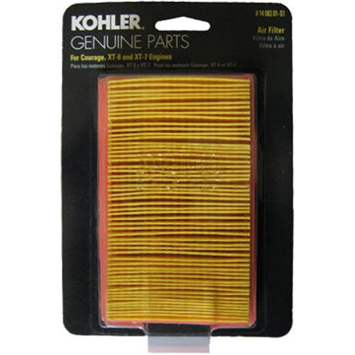 KOHLER 14 083 01-S1 Engine Air Filter Kit For Courage XT Series Engines (Air Central Filter)