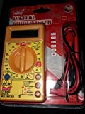 #8: DT830D Small Digital Multimeter, Yellow Color