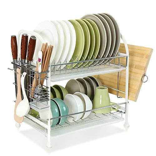 LSJT Shelf Dish Rack Drain Rack Knife Holder Chopsticks Bowl Vajilla Rack...