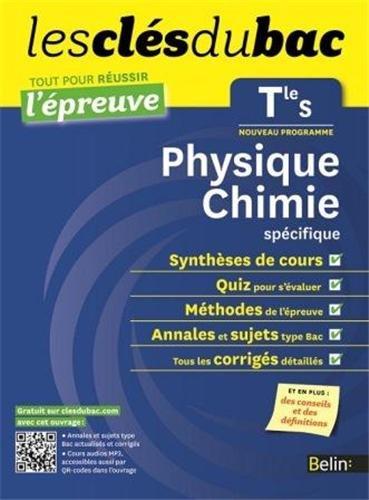 Cls du Bac - Physique Chimie Tle S - Russir l'preuve