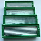 4 HEPA Allergie Filter für Vorwerk Kobold VR 200