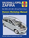 Vauxhall Zafira Repair Manual Haynes Manual Service Manual Workshop Manual 2009-2014