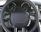 Assetto di plastica del coperchio del volante del volante dell'ABS di stile della fibra del carbonio per Range Rover Evoque 2012-2019